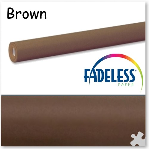 Brown Fadeless Display Paper, 609mm x 3.6m