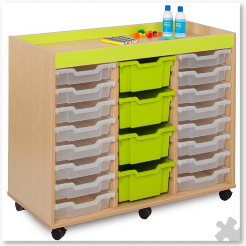 Bubblegum 24 Shallow Tray Unit