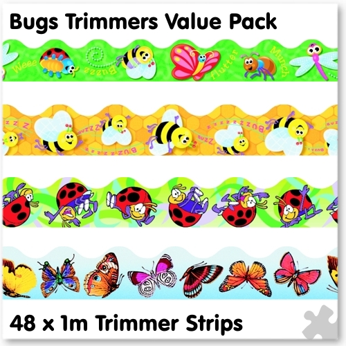 Bugs Trimmer Border Value Pack