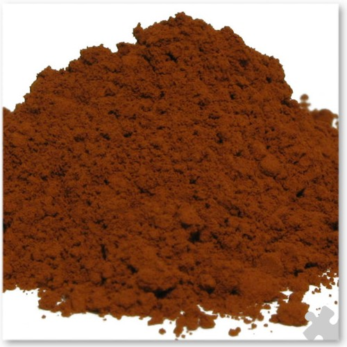 Burnt Umber Powder Paint - 5kg Tub