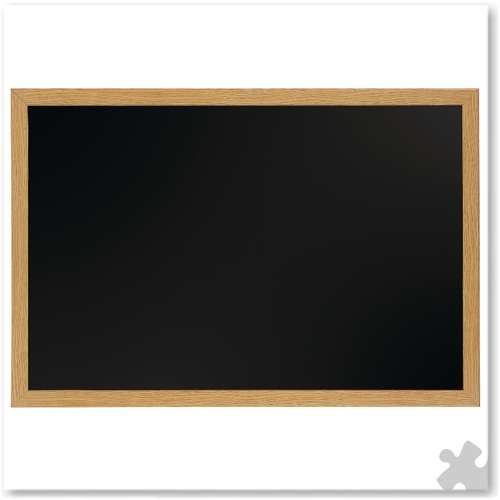 Chalk Board With Oak Frame 120cm x 90cm