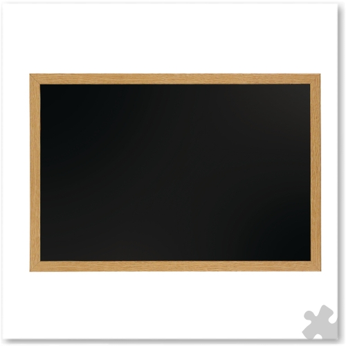 Chalk Board With Oak Frame 90cm x 60cm