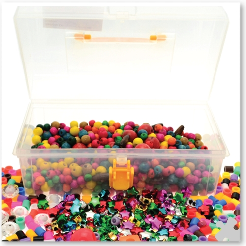 Chunky Jewellery Making Kit, Bright Colours