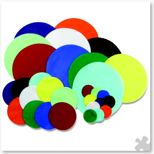 Die Cut Tissue Circles