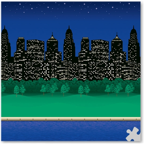 City Lights Design Fadeless Display Paper - 15m