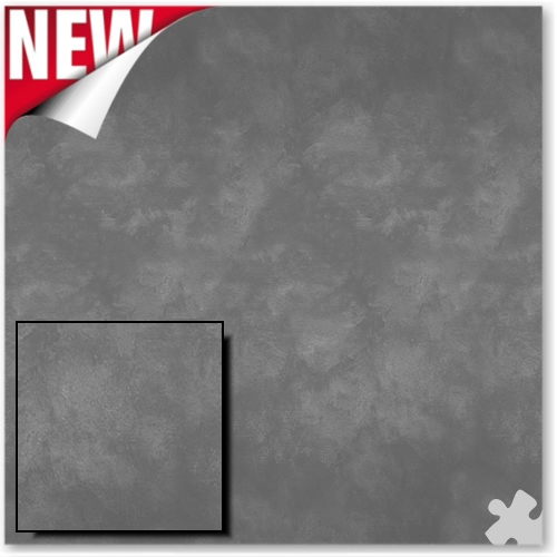 Colour Wash Charcoal Design Fadeless Display Paper - 3.6m