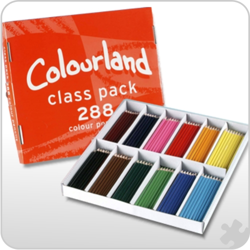 288 Colourland Colouring Pencils