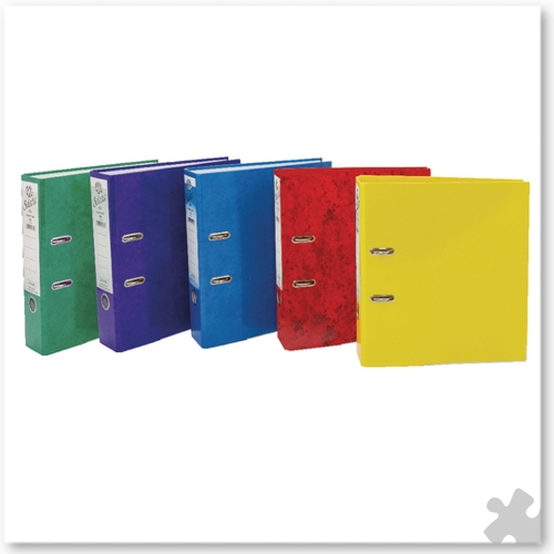 IXL Selecta A4 Lever Arch Files, 10 Assorted
