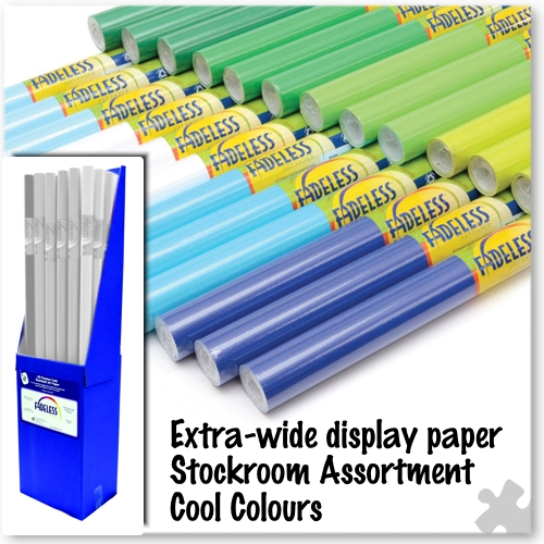 Cool Colours Fadeless Display Stockroom Assortment