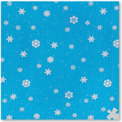 Corobuff Winter Flakes Design