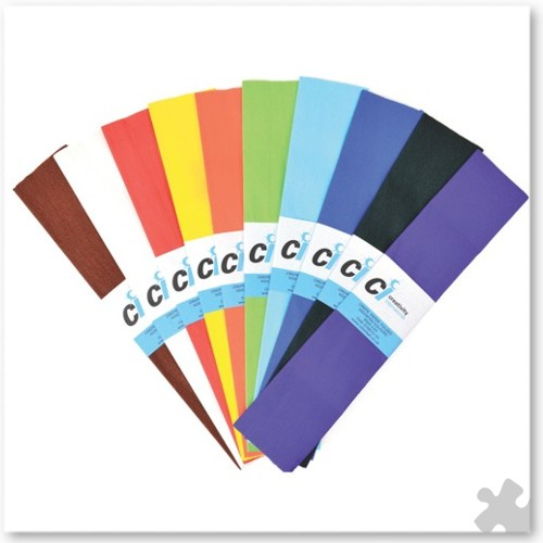Crepe Paper 12 Fold Assortment
