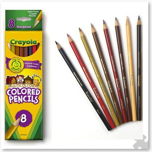 Crayola Multicultural Colouring Pencils