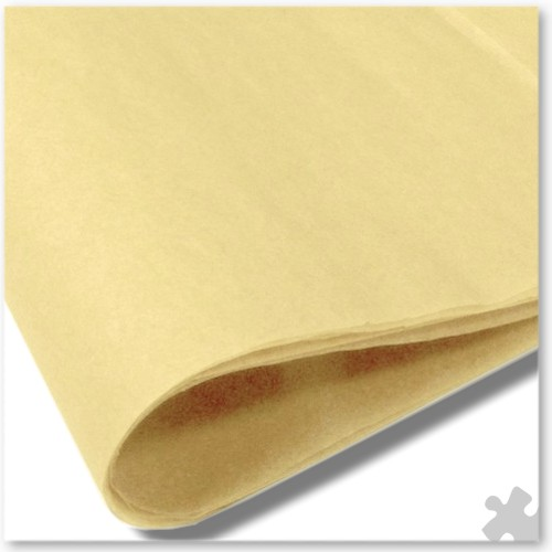 Cream Tissue Paper, 10 Sheets