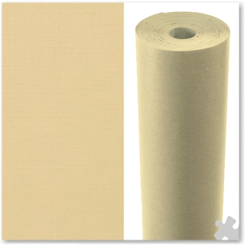 Cream Embossed Display Paper - 25m roll