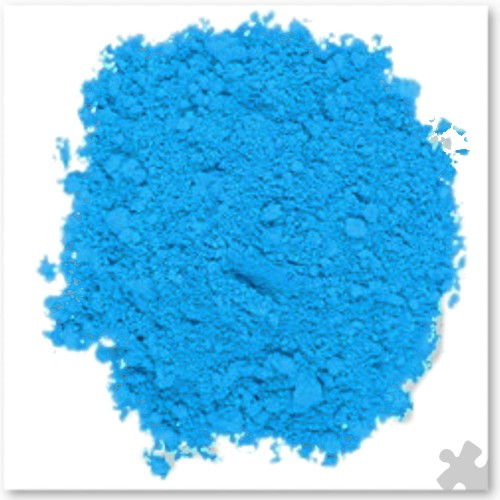 Cyan Powder Paint - 2kg Tub