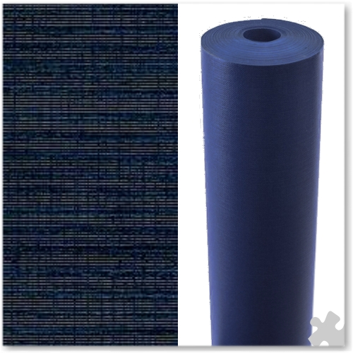 Dark Blue Embossed Display Paper - 25m roll