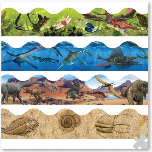 Dinosaurs Trimmer Border Value Pack