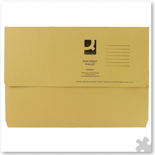 Document Wallets, 50 Yellow