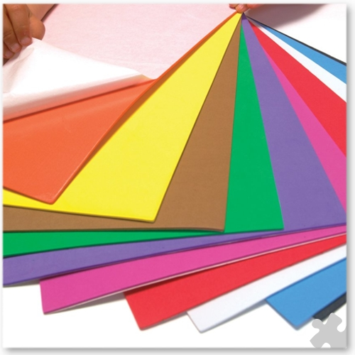 Foam Sheets, A4, Self-adhesive Backing