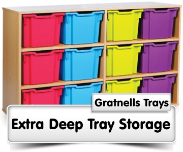 Extra Deep Tray Storage