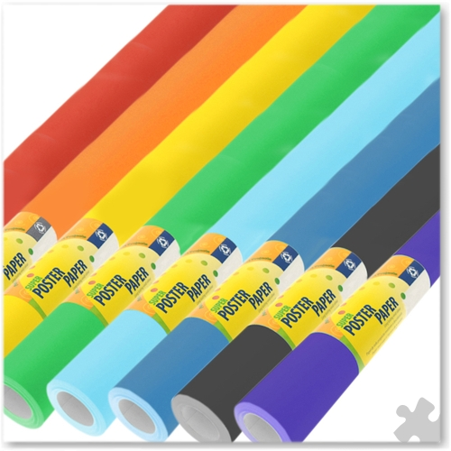 Extra Wide Poster Paper Assortment