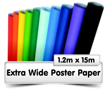 Extra-Wide Poster Paper