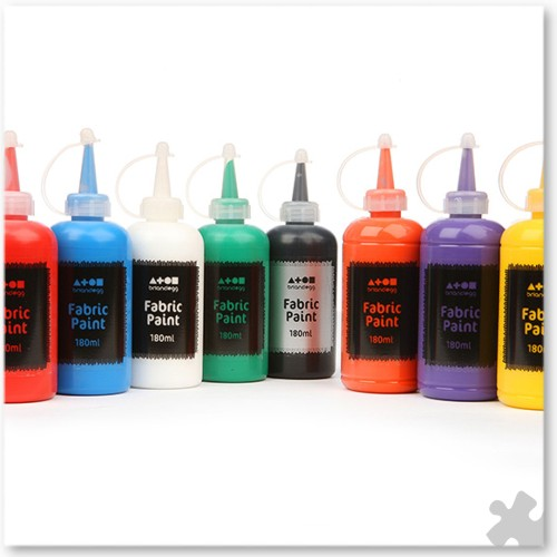 Fabric Paint, 6 Tubes