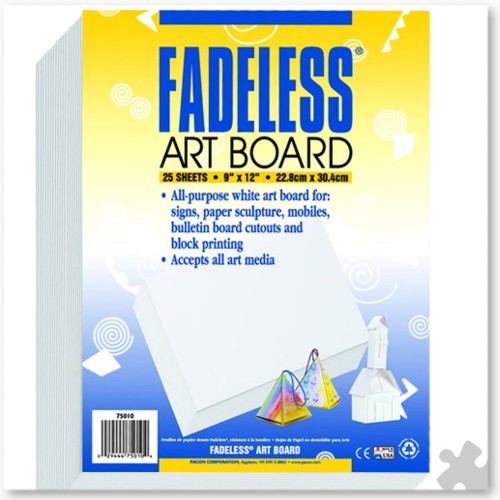 Fadeless Artboard in White