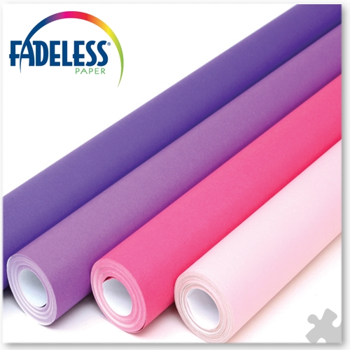 Purple & Pinks Collection Fadeless Display Paper