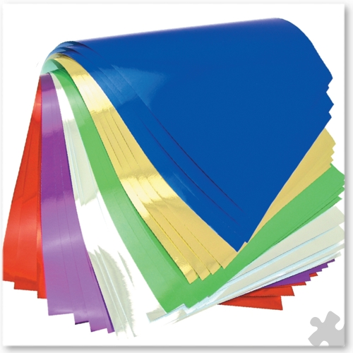 Fadeless Metallic Paper in Assorted Colours