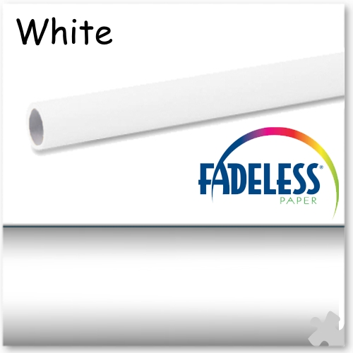 White Fadeless Display Paper, 609mm x 3.6m