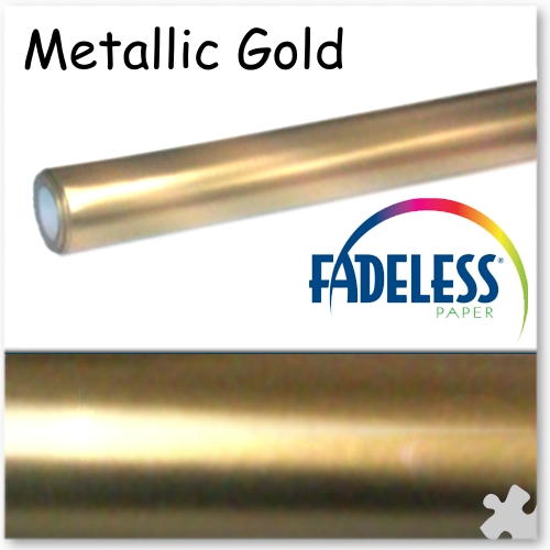 Metallic Gold Fadeless Display Paper - 7.5m