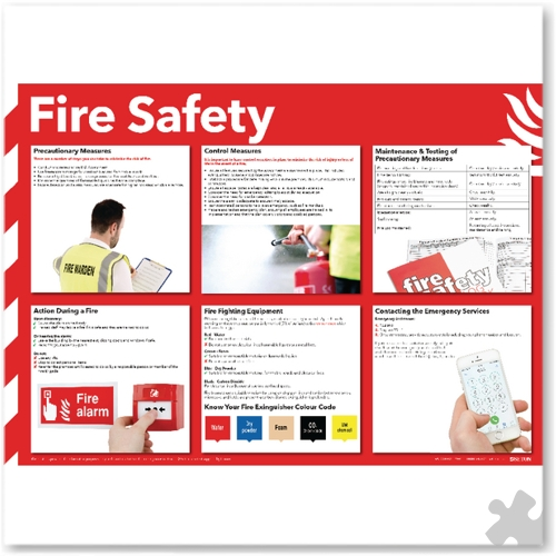 Health and Safety - Fire Safety Poster