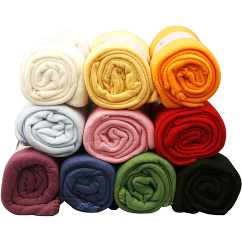 Fleece 10 assorted Colours