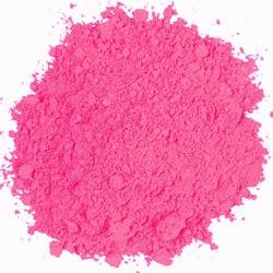 Fluorescent Pink Powder Paint