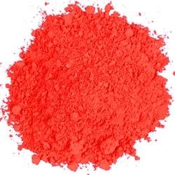 Fluorescent Red Powder Paint