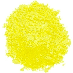 Fluorescent Yellow Powder Paint