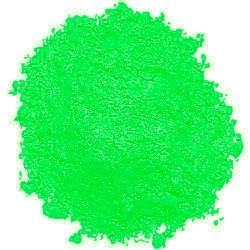 Fluorescent Green Powder Paint
