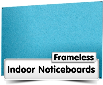 Frameless Noticeboards