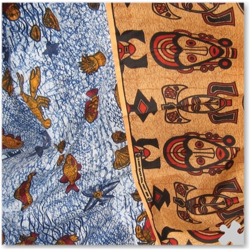Gambian Display Fabric