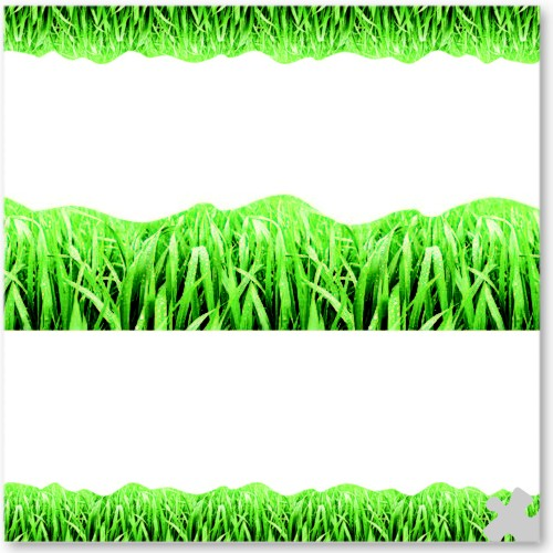 Grass Discovery Trimmer Border