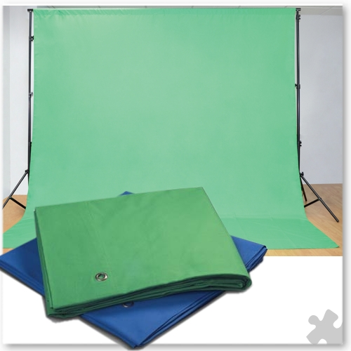 Chroma Key Fabric Green