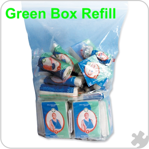 First Aid Kit Refill, 10 Persons