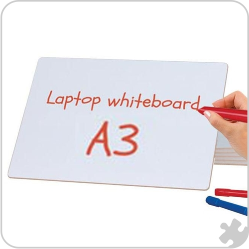 A3 Guideline Laptop Whiteboard