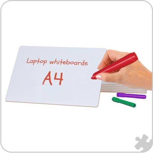 A4 Guideline Laptop Whiteboard