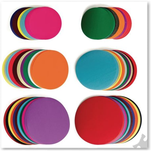 Gummed Paper Circles Assorted Sizes