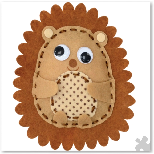 Heidi the Hedgehog Woodland Buddies Sew Kit