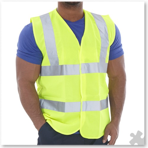 High Visibility Adult Waistcoat, Medium 40""