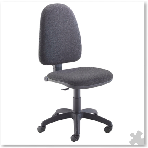 High Back Operator Chair in Charcoal