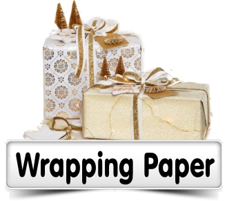 Wrapping Paper, Ribbons,Tags.